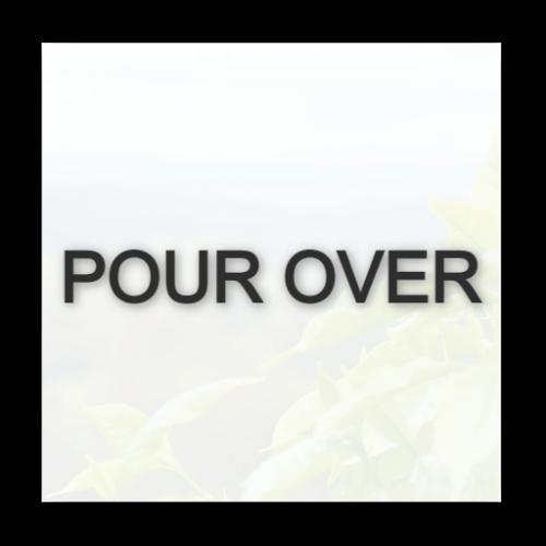 Pour Over \ Aeropress