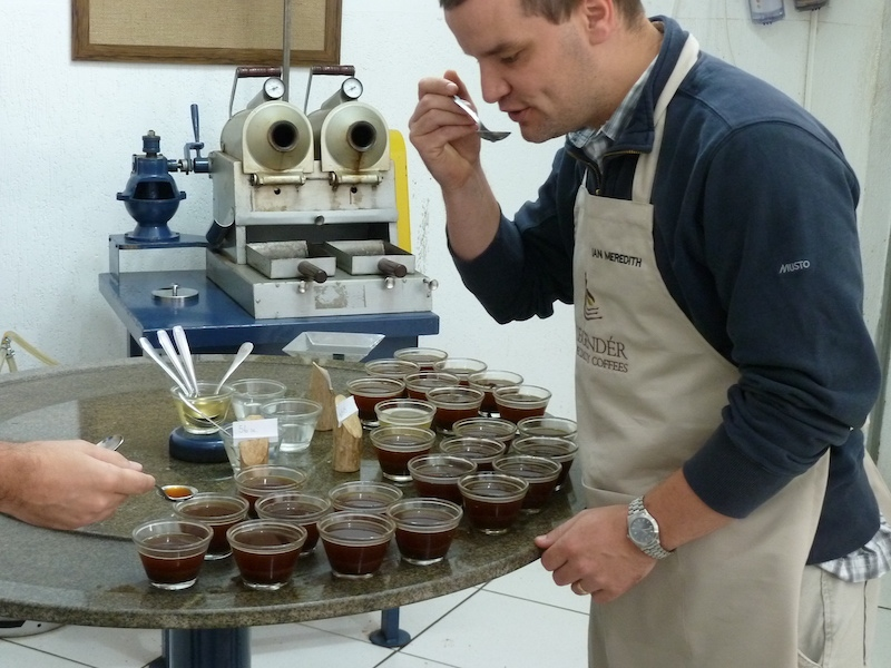 Ian Brazilian Roast Coffee Cupping