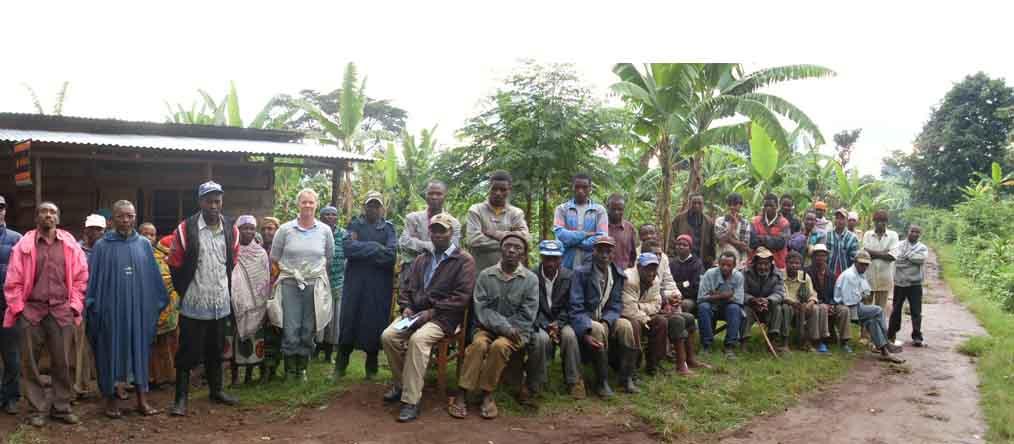 Africa Coffee Orera Villagers 2009